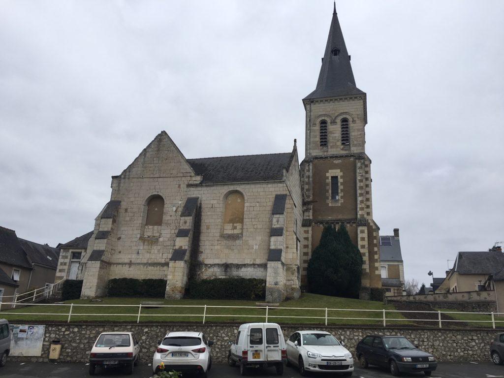 L'église Saint-Martin-du-Vertou