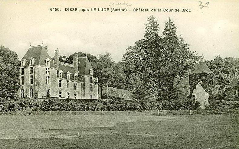 You are currently viewing La Cour de Broc à Dissé-sous-le-Lude