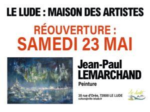 Réouverture de la maison des artistes samedi 23 mai.