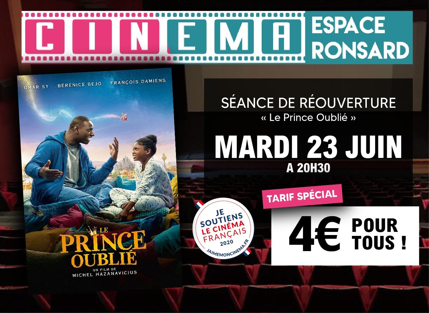 Cinéma Ronsard : Soirée de Réouverture