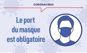 Arrêté préfectoral : Masque obligatoire sur la commune nouvelle du Lude.