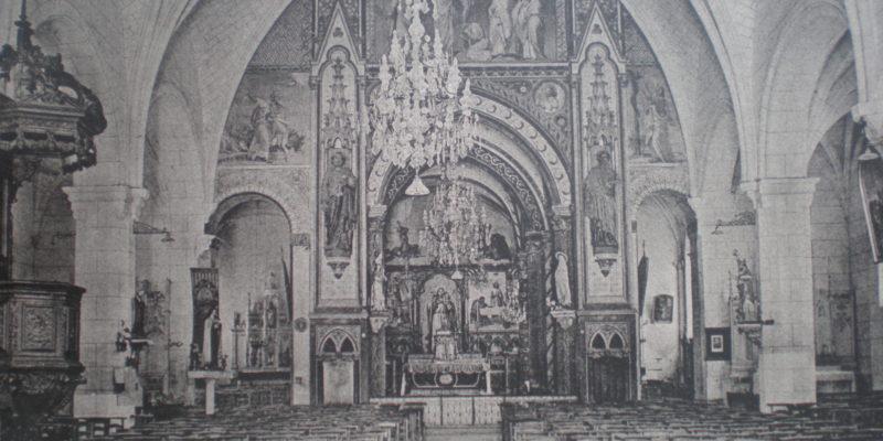 Une église d'origine carolingienne