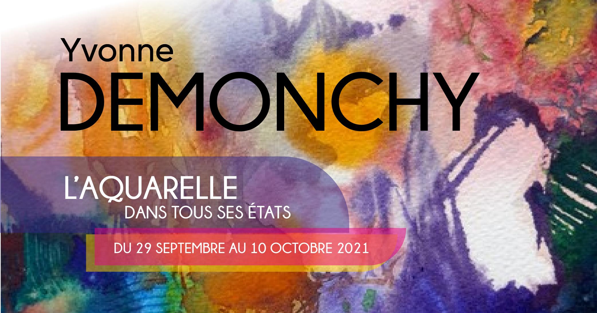 You are currently viewing L'Aquarelle dans tous ses états (Yvonne Demonchy)