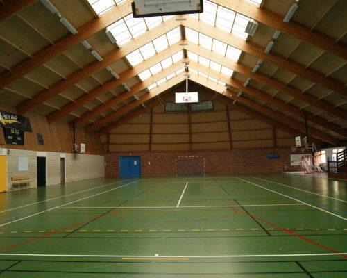 Un gymnase multi-sports